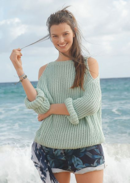 Strickanleitung - Patent Pullover