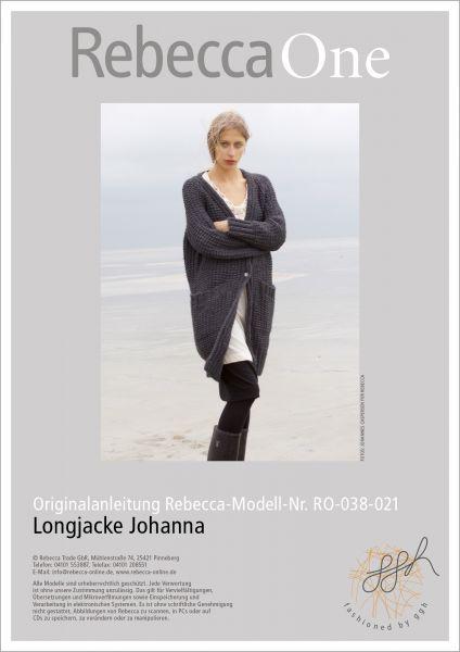 Anleitung - Longjacke Johanna