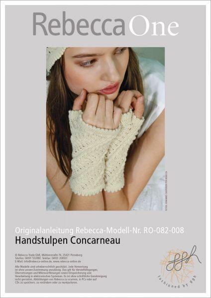 Anleitung - Handstulpen Concarneau