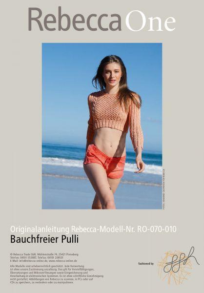 Strickmuster - Bauchfreier Pulli
