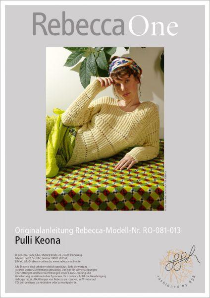 Anleitung - Pulli Keona