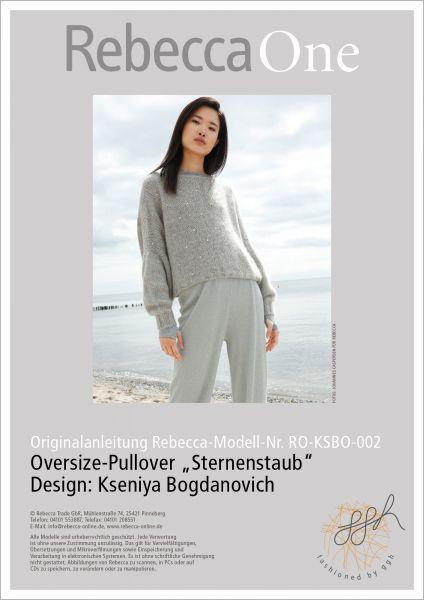 """Anleitung - Pullover """"Sternenstaub"""""""