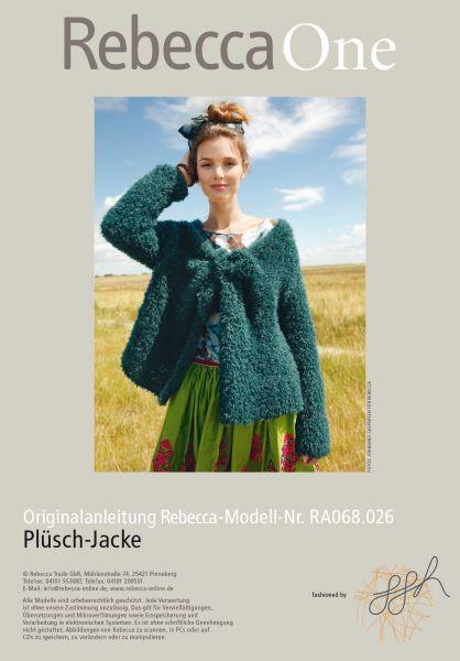 Plüsch-Jacke