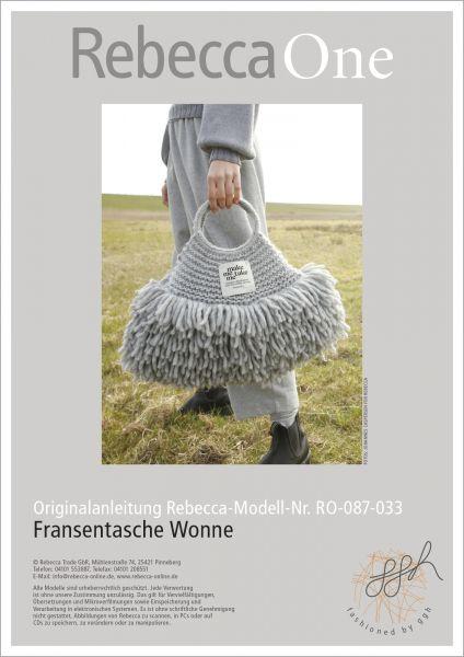 Fransentasche Wonne