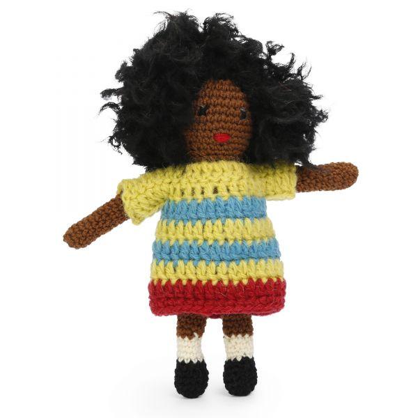 Häkelset Puppe Malaika Inklusive Kostenlosen Amigurumi