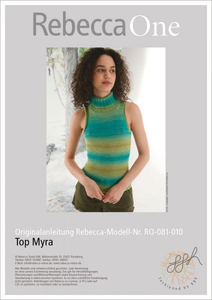 Anleitung - Top Myra