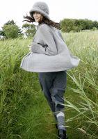 Jacke mit Schalkragen