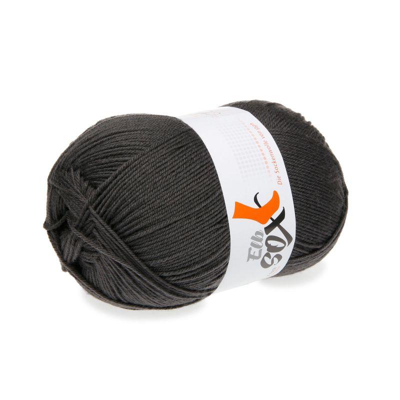 Sockenwolle Merino extrafein Elbsox 4fach uni