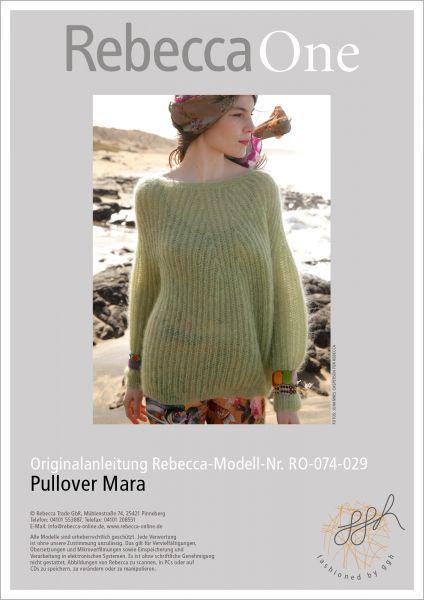 Strickanleitung - Pullover Mara