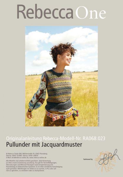 Pullunder mit Jacquardmuster
