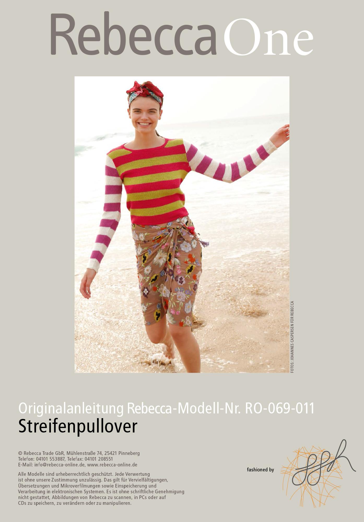 b7ce410284 Striped jumper | Rebecca