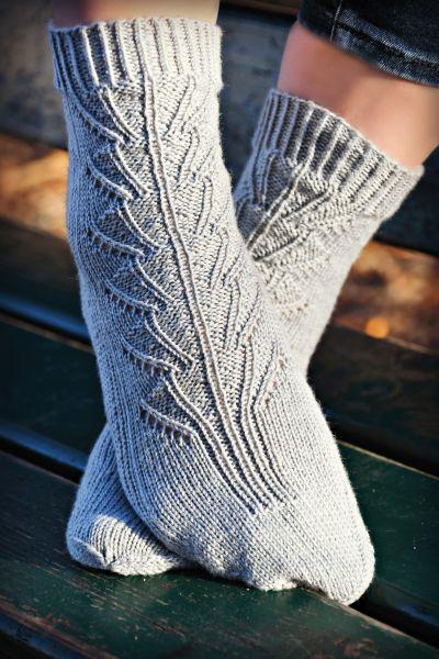 "Socken ""Frühlingserwachen"""