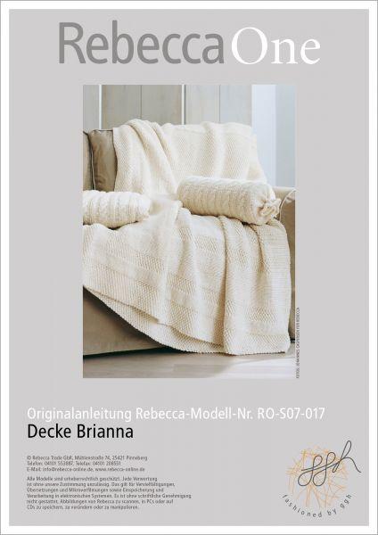 Anleitung - Decke Brianna