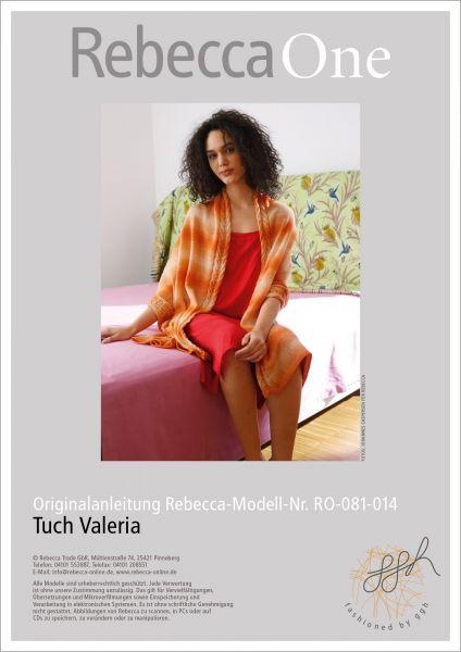 Anleitung - Tuch Valeria
