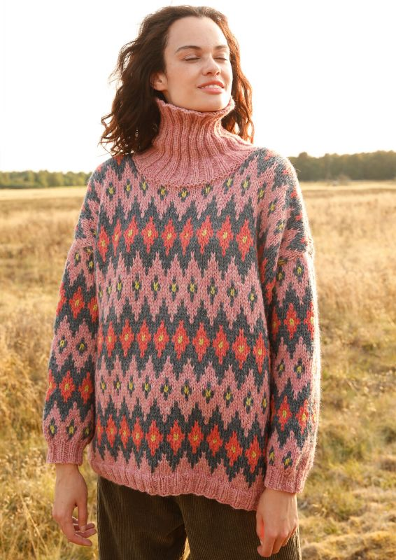 Pullover mit Jacquard-Muster