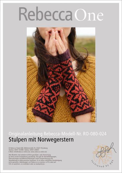 Anleitung - Stulpen mit Norwegerstern