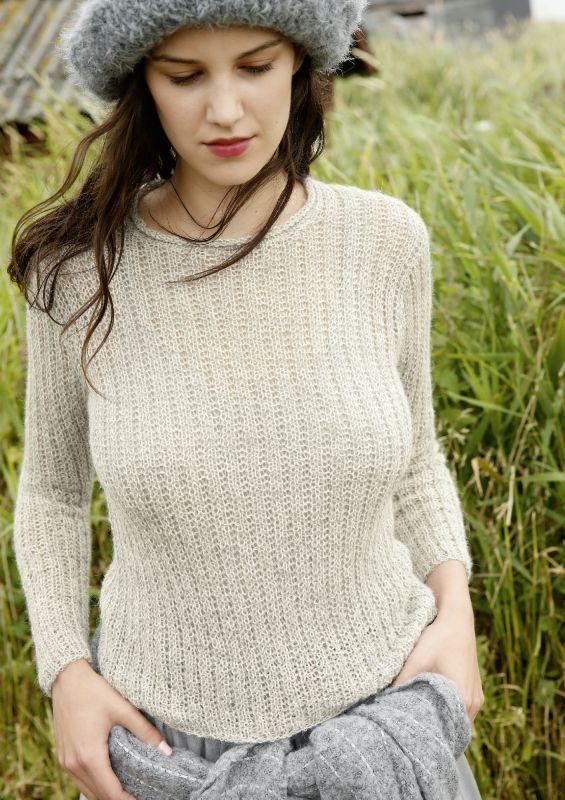 Einfach und schnell: Pullover stricken