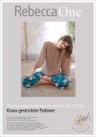 Strickanleitung - Kraus gestrickter Pullover