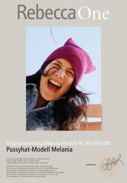 Pussyhat-Modell Melania