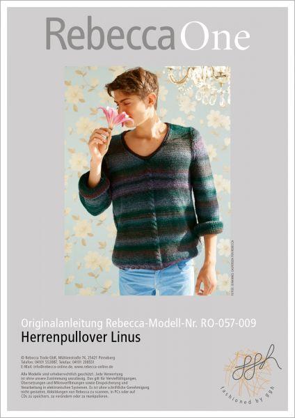 Strickanleitung - Herrenpullover Linus