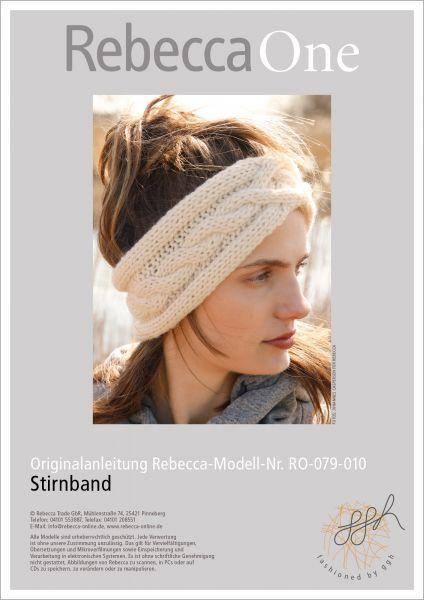Anleitung - Stirnband