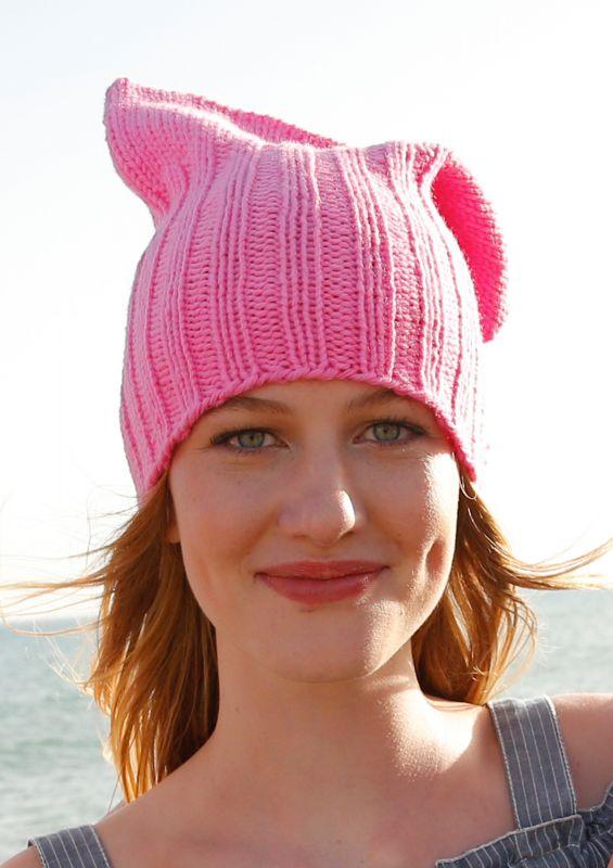 Pussyhat Projekt: Modell Ivanka