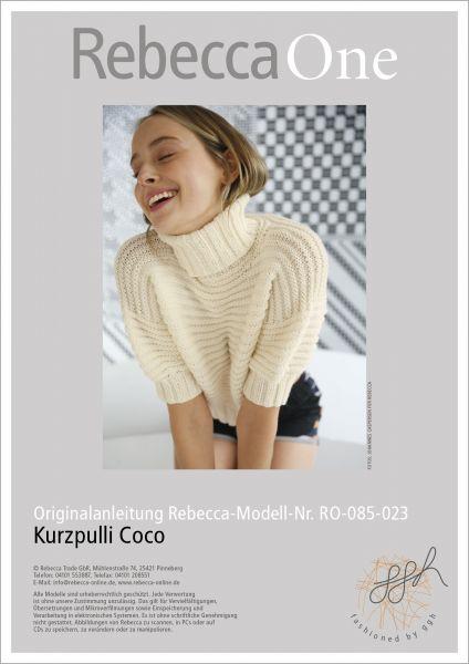 Anleitung - Kurzpulli Coco