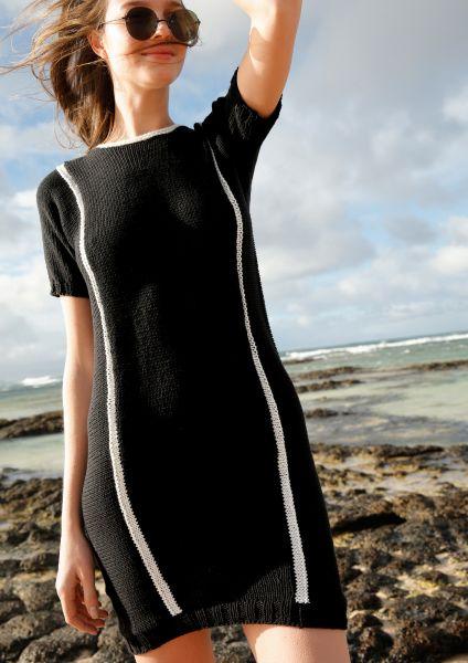 Strickanleitung - Schwarzes Kleid