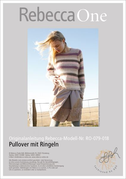 Anleitung - Pullover mit Ringeln