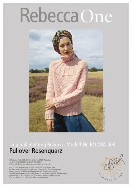 Anleitung - Pullover Rosenquarz