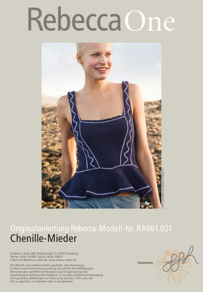 Chenille-Mieder