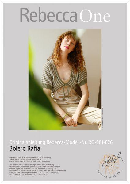Anleitung - Bolero Rafia
