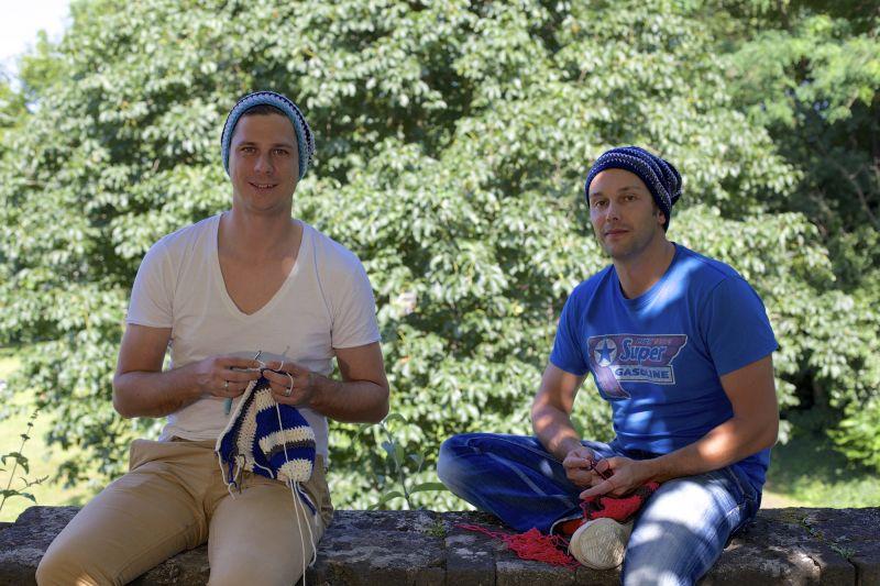 Häkelhelden: Tim und Carsten