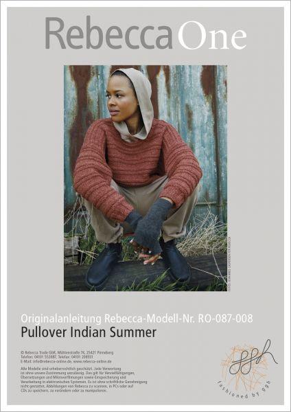 Anleitung - Pullover Indian Summer