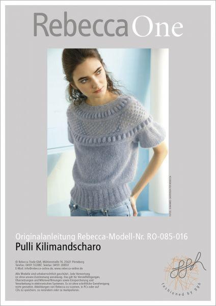 Anleitung - Pulli Kilimandscharo