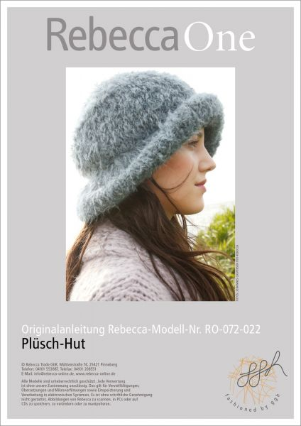 Strickanleitung - Plüsch-Hut