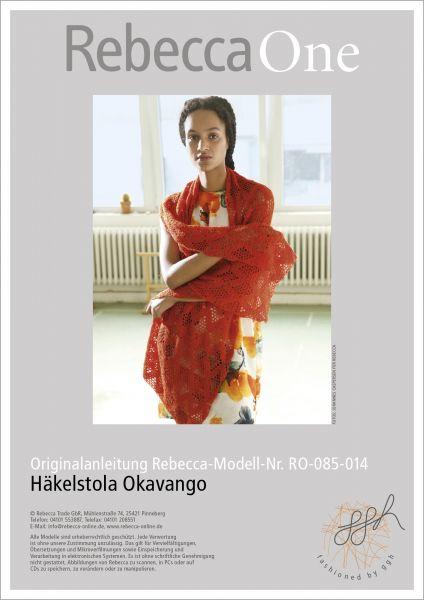 Anleitung - Häkelstola Okavango