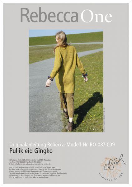 Anleitung - Pullikleid Ginko