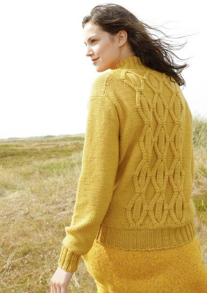 Pullover mit Rhombenmuster