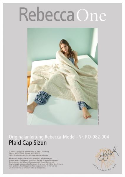 Anleitung - Plaid Cap Sizun