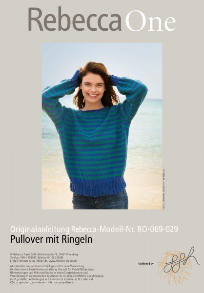 Pullover mit Ringeln