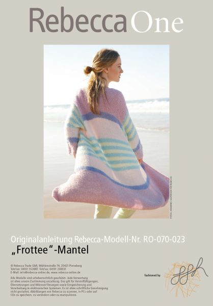 "Strickmuster - ""Frottee""-Mantel"