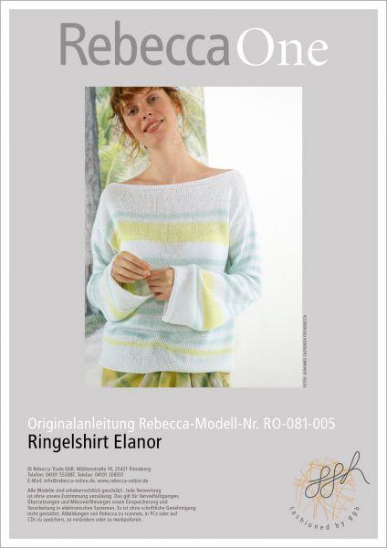Anleitung - Ringelshirt Elanor
