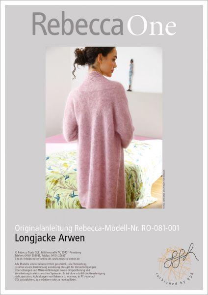 Anleitung - Longjacke Arwen