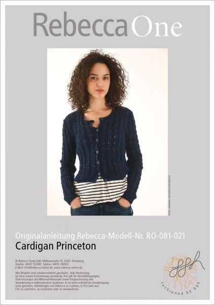 Anleitung - Cardigan Princeton