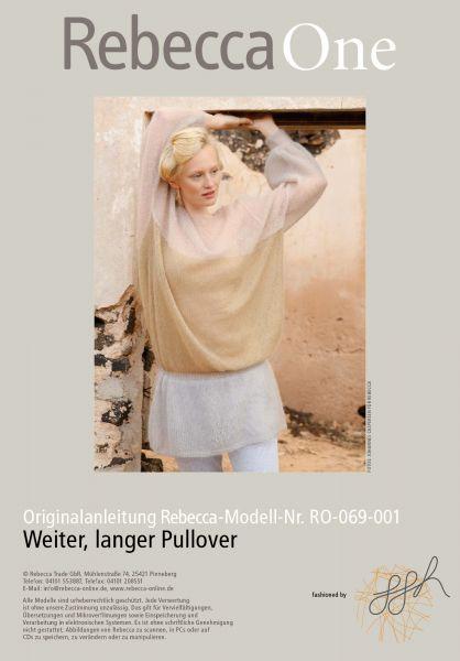 Weiter,langer Pullover