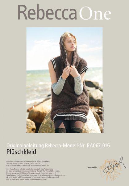 Plüsch-Kleid