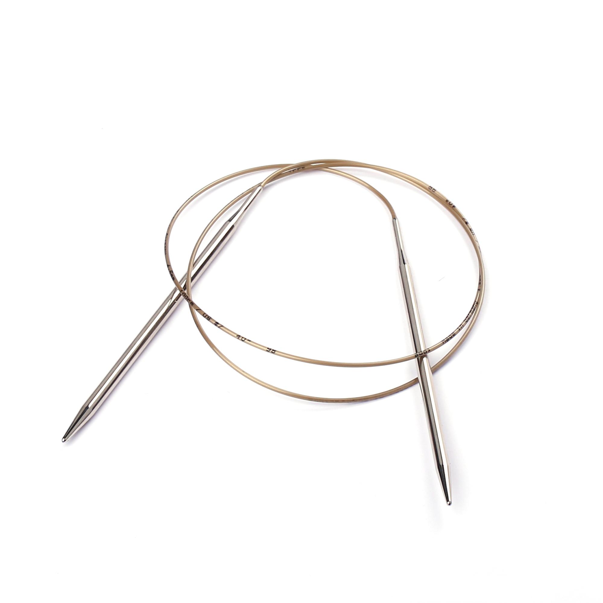 addi Rundstricknadel 10,0 mm Metall Stricken