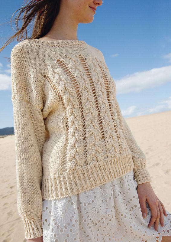Pullover mit Zoepfen
