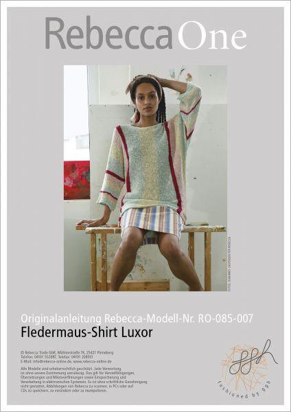 Anleitung - Fledermaus-Shirt Luxor